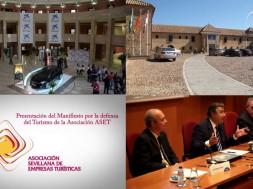 Presentación ante los medios del manifiesto en defensa del turismo de la asociación ASET