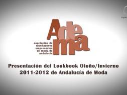 Vídeo Reportaje Presentación del Lookbook Otoño-Invierno 2011-12 de Andalucía de Moda