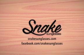 Gafas de madera exclusivas online en promoción: Snake Sunglasses